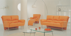 Link toCombination of orange leisure sofa 3d model home (including materials)