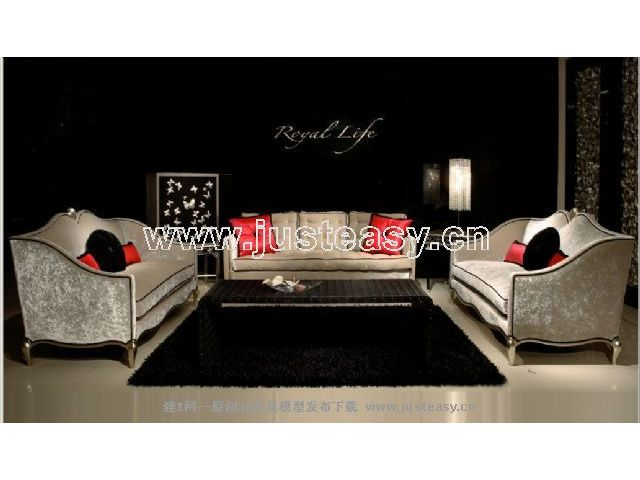 Link toCombination of two low-key luxury sofa 3d model