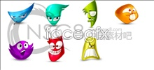 Link toComedy face desktop icons