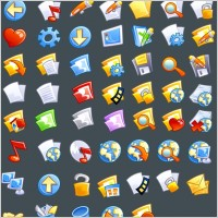 Link toComic icons icons pack