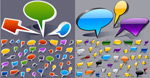 Link toComic word balloons