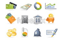 Link toCommercial finance icon vector 2