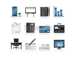 Link toCommercial finance icon vector