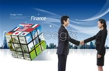 Link toCommercial flags $ rubik's cube psd