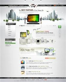 Commercial web site 03 psd