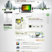 Link toCommercial websites 04 psd layered