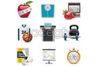 Link toCommon article three icon vector