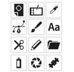 Link toCommon icons vector
