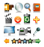 Link toCommonly used vector icons
