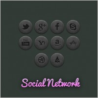 Link toCommunity social network icon psd layered
