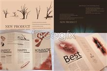 Link toComplete corporate image brochure templates psd