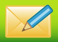 Link toCompose mail button vector free