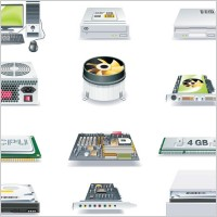 Link toComputer and accessories icon vector