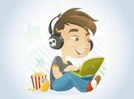 Link toComputer kid vector free