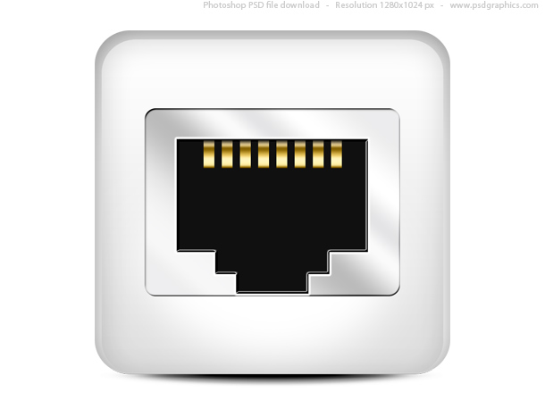 Link toComputer network icon (psd)
