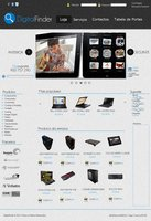 Link toComputer shop free template psd
