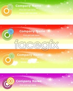 Link toConcentric circle dream banner vector