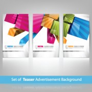 Link toConcept colorful background 03 vector