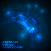 Link toConcept dark blue technical vector background 04 free