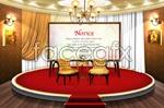 Link toConference indoor decoration psd