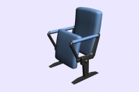 Link toConference room folding chair 3d model