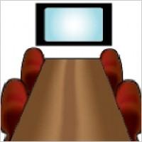 Link toConference room icon vectors