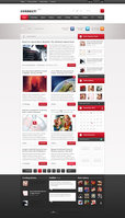 Link toConnect - premium magazine template news page v2