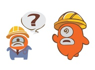 Link toConstruction cartoon characters vector free