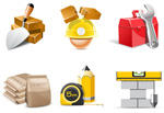 Link toConstruction icons vector