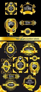 Link toContinental gold label vector map