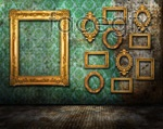 Link toContinental in the wall photo frame psd