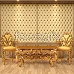 Continental ornate furniture psd
