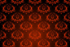 Link toContinental red patterned background vector