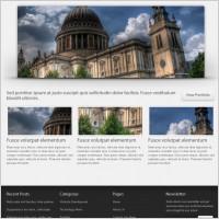 Link toContinuum website template (psd)