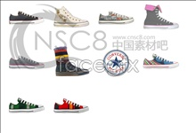 Converse shoes icon