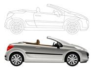 Link toConvertible car graphics vector free