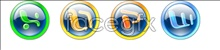 Link toConvex buttons software application icons
