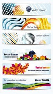 Link toCool banner design template vector