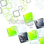 Link toCool block out background vector