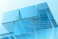 Link toCool blue cube vector