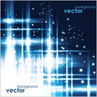 Link toCool blue glare background vector 2