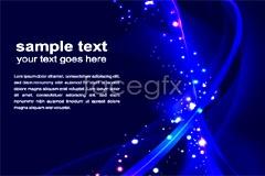 Link toCool blue glare background vector