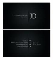 Link toCool business card template source files