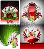 vector background casino Cool