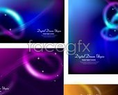 Link toCool crossover glare background vector