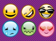 Link toCool emoticons vector free