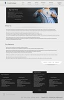 Link toCool estate psd template