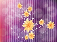 Link toCool flowers vector free