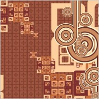 Link toCool free brown vector background