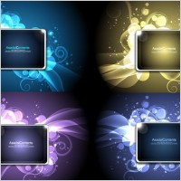 Link toCool glare pattern vector series 3